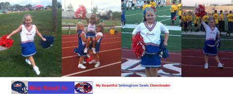 My beautiful cheerleader